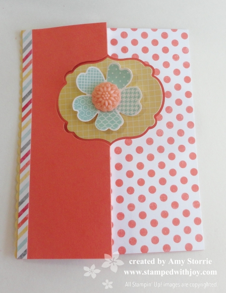 Label Thinlits Card - front closed
