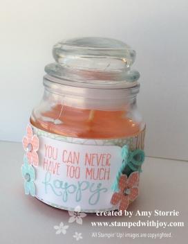 Sweet Sorbet candle 2