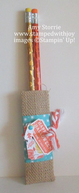 Halloween pencil pouch