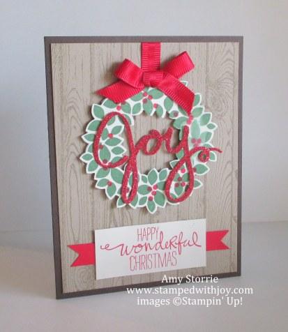 Wondrous Wreath Joy