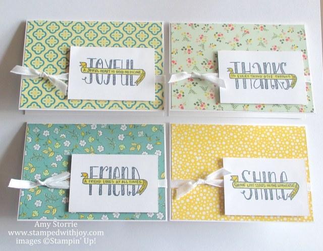 Banner Blessings card set